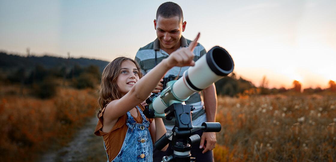Kater teleskop naj izbere začetnik?