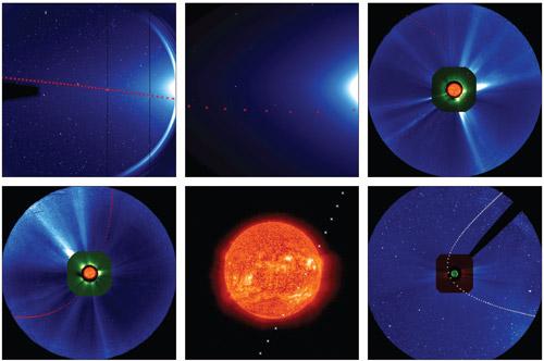 komet-ison-STEREO-SOHO-SDO