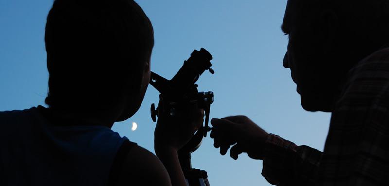 Opazovanje zvezd in Lune -Turistična vas Pristava