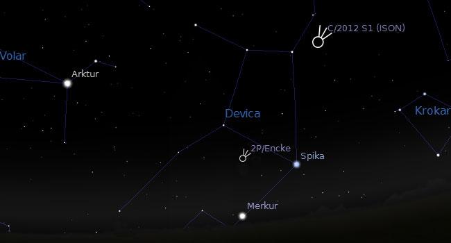 komet-2PEncke-ISON