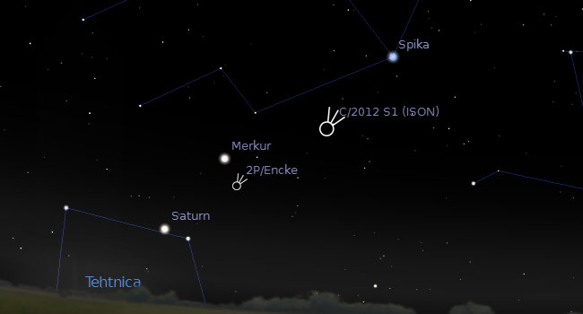 komet-2PEncke-perihelij-ISON-jpg