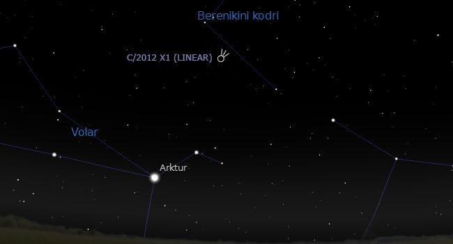 komet-c2012X1LINEAR-izbruh