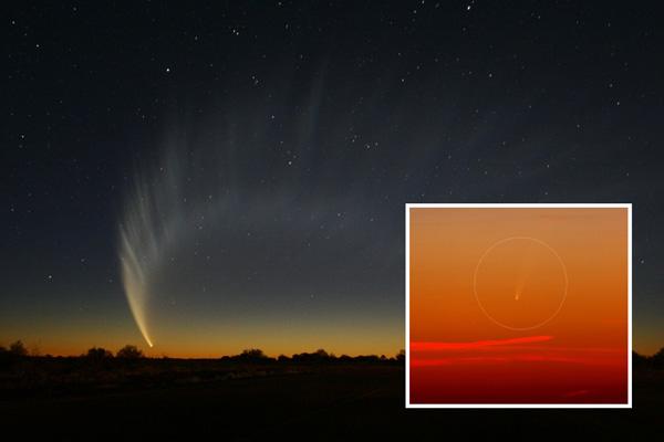 komet-McNaught-ison