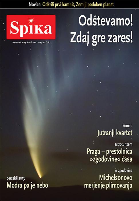 Astronomska revija Spika, november 2013