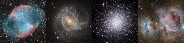 Nekateri Messierjevi objekti