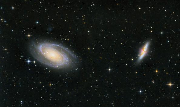 Astrofotografija galaksij iz domačega vrta s sodobno CCD kamero G2-8300
