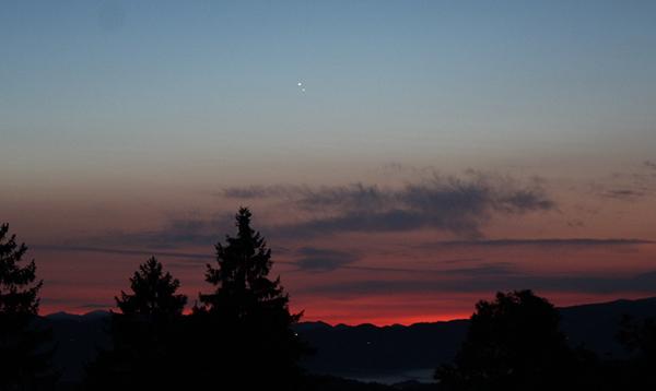 Venera in Jupiter v konjunkciji!