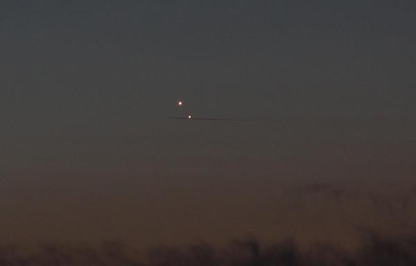 Venera in Jupiter ter sled letala.