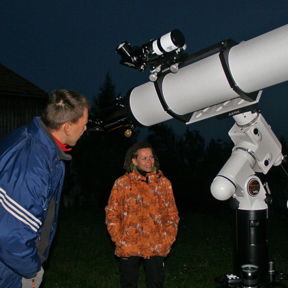 Nepozabno astronomsko doživetje - boni za opazovanje zvezd, galaksij, planetov in Lune s teleskopom