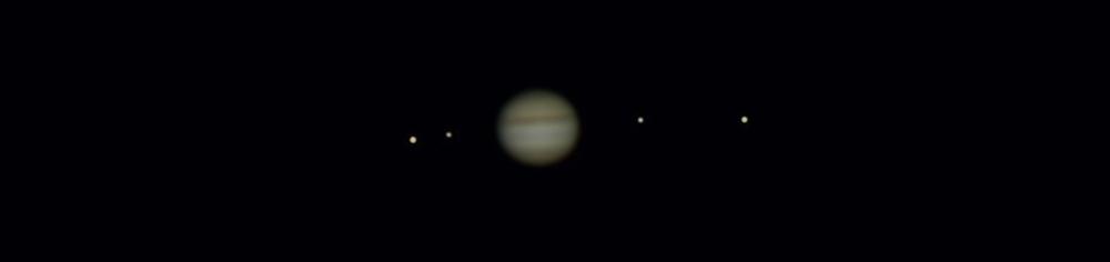 Jupiter skozi majhen telekop
