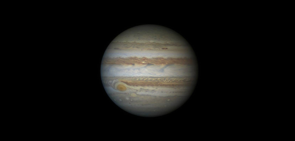 Plinasti velikan - Jupiter. Foto: Damian Peach