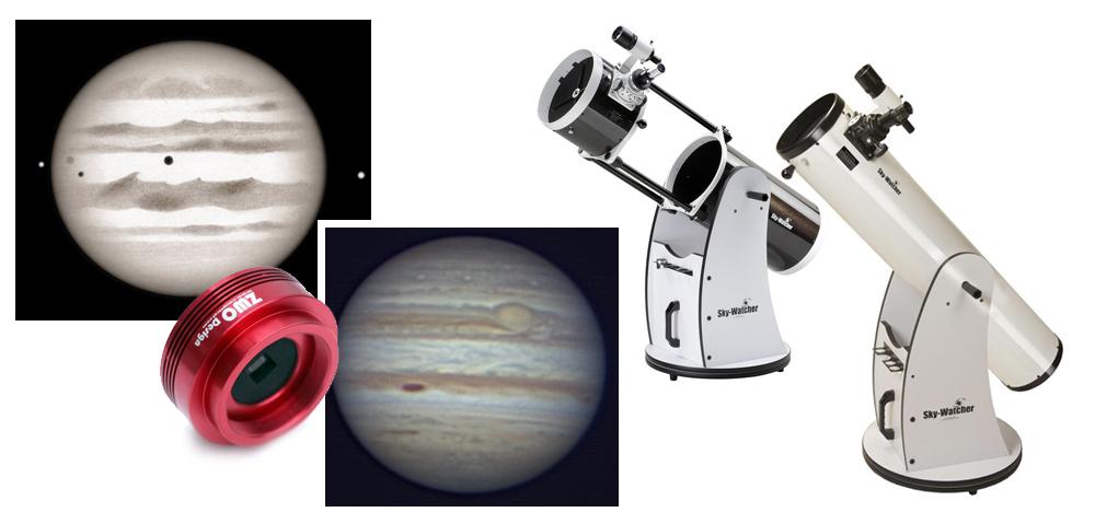 Opazujmo in fotografirajmo planet Jupiter