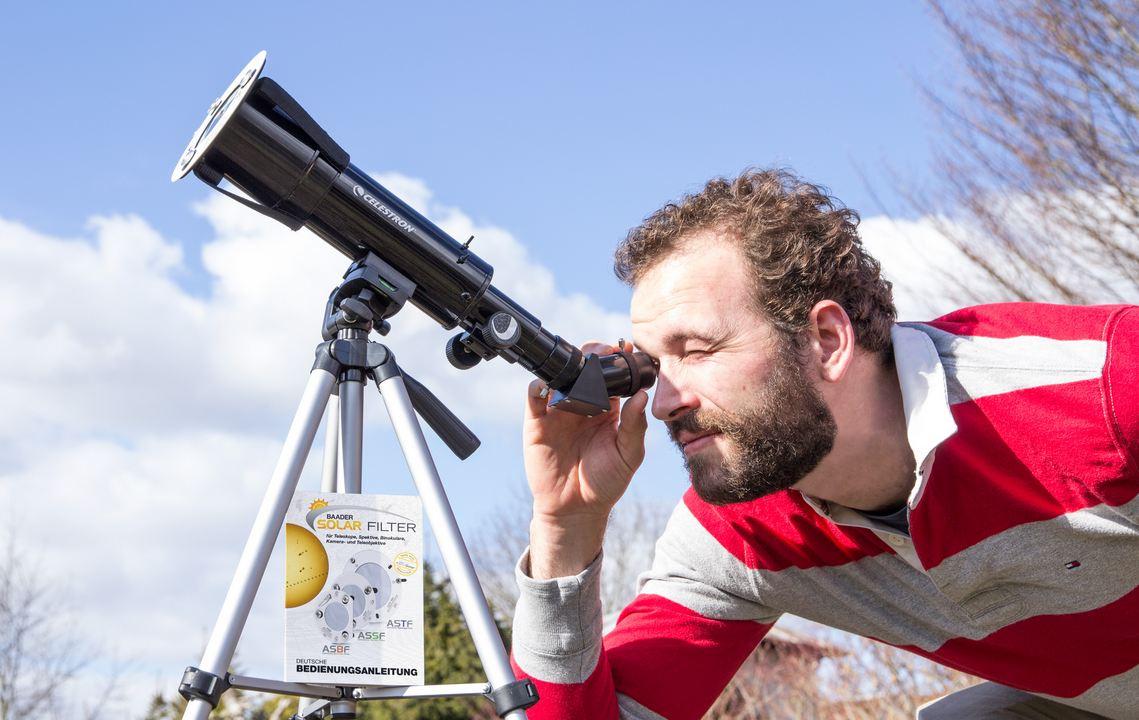 Javna opazovanja delnega Sončevega mrka