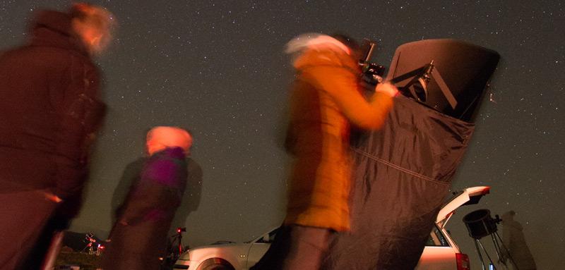 Astronomsko opazovanje turistična vas Pristava