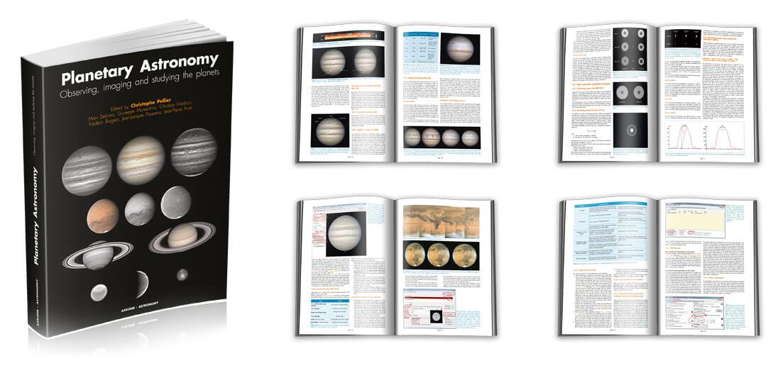 Nova knjiga, ki bo razveselila predvsem vse, ki vas navdušuje opazovanje planetov.