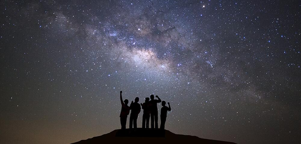 Fotografiranje nočnih pokrajin / enostavna astrofotografija