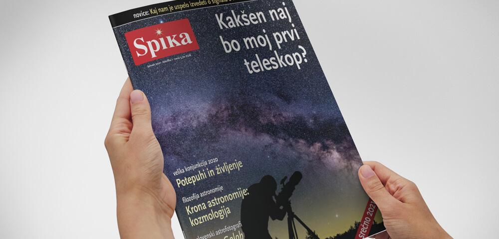 Astronomska revija Spika, januar 2021