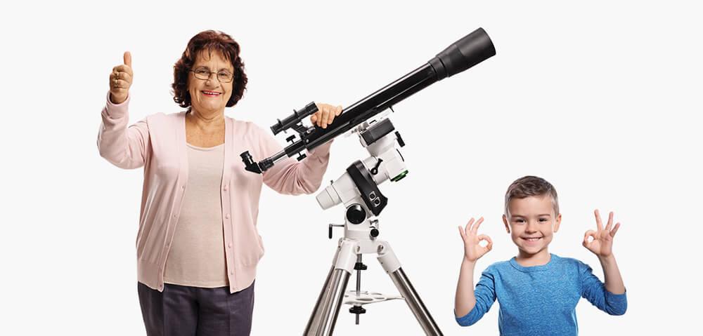 Stabilna montaža teleskopa!