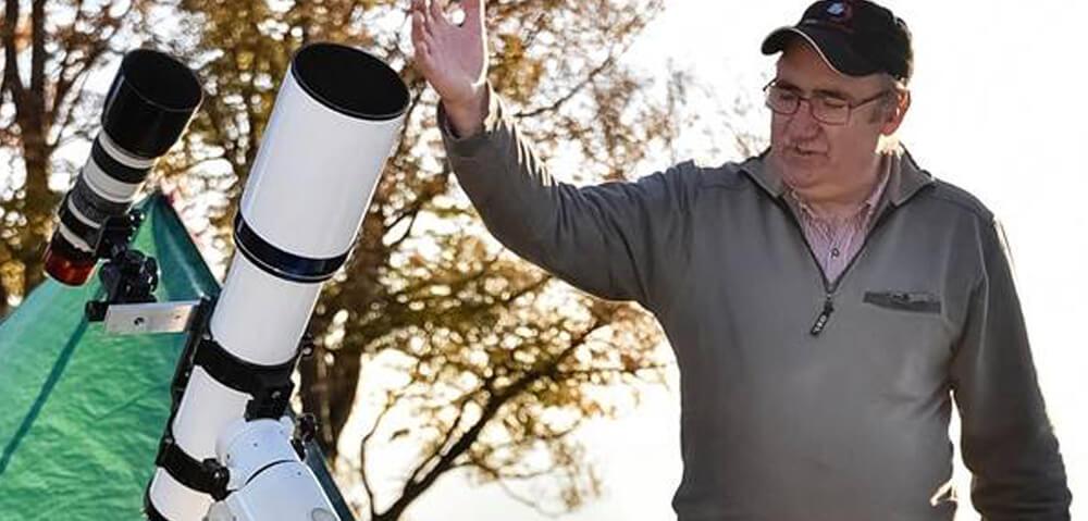 Astrofotograf Stojan Golob