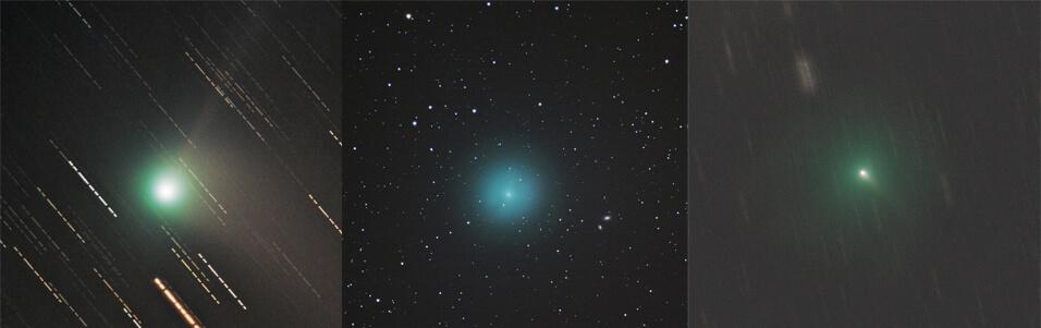 Astrofotograf Stojan Golob / slike kometov