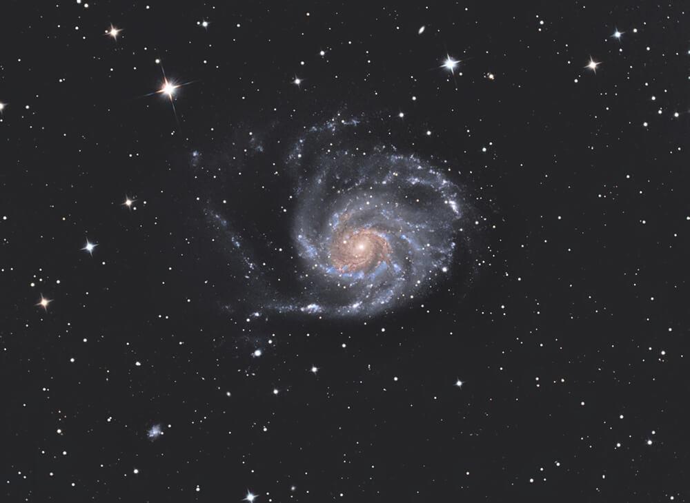 Astrofotograf Stojan Golob / galaksija M101