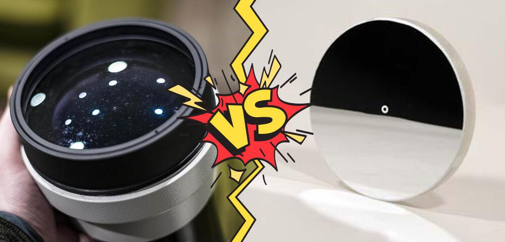 Kater teleskop je boljši? Refraktor ali reflektor?