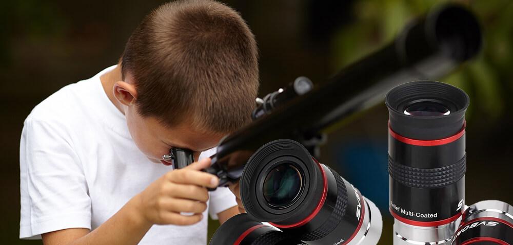 Opazovanje s teleskopom. Kater okular izbrati?