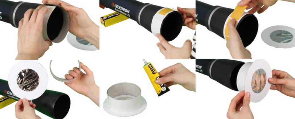 Kako izdelamo filter za opazovanje Sonca