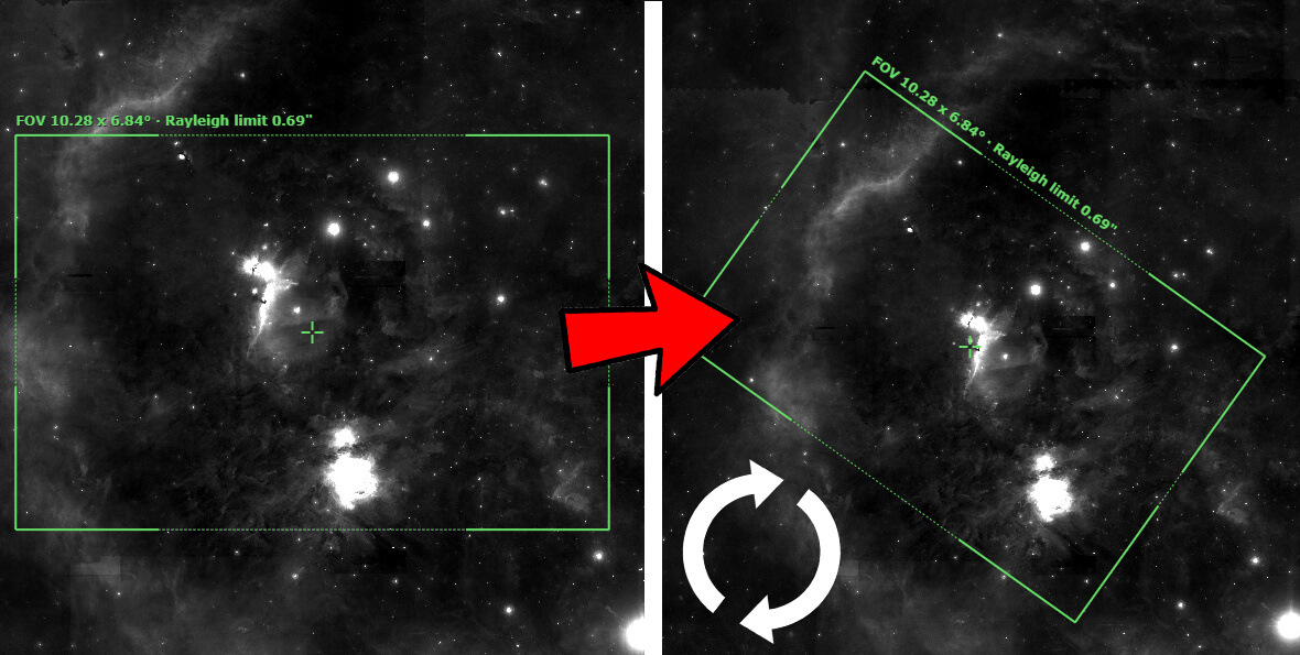 Rotator polja FR1 je namenjen tistim astrofotografom, ki jim ni vseeno, kako je objekt v vidnem polju kamere pozicioniran, ki jim ni vseeno za kompozicijo slike, torej tistim, ki vedo, da tudi to šteje v končni oceni slike.