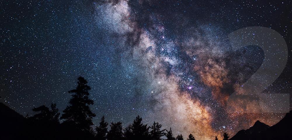 Sprostim očesom z Zemlje vidimo vsega skupaj 9096 zvezd