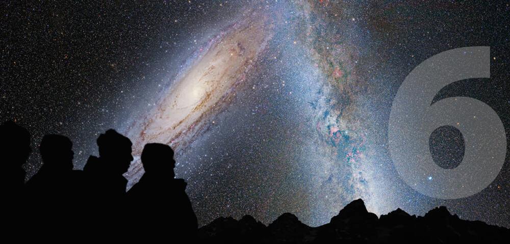Trčenje z Andromedino galaksijo