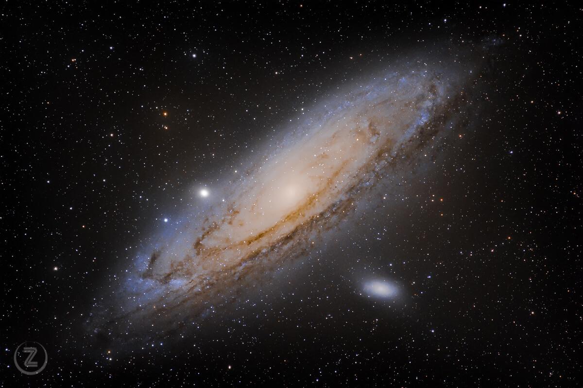 Železni repertoar vsakega pravega astrofotografa: Andromedina galaksija M 31