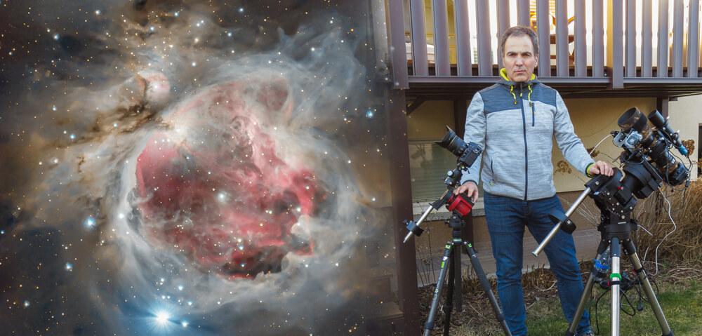astrofotograf Zoran Vidrih